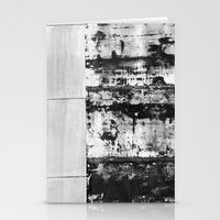 Black And White Abstract… Stationery Cards