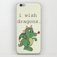 I wish dragons iPhone & iPod Skin