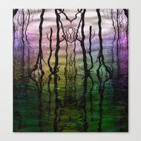 Rainbows And Reflections Canvas Print