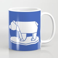 Origami Polar Bear Mug