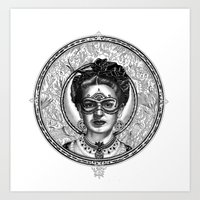 FRIDA SAVAGGE. Art Print