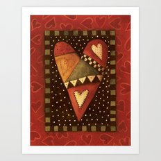 Crazy For Love Art Print