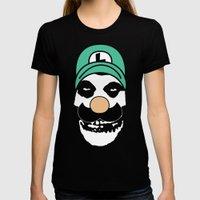 Misfit Luigi Womens Fitted Tee Black SMALL