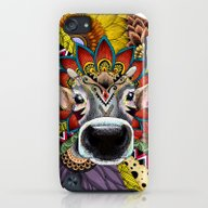 TRIBAL COW iPod touch Slim Case