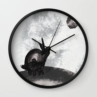 。Yearning for the Moon 。 Wall Clock