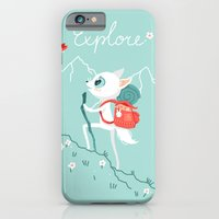 iPhone Cases featuring Explore by Freeminds