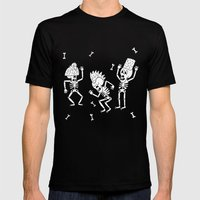 Dance of the Dead Mens Fitted Tee Black SMALL