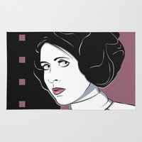 Princess Leia Pop Art Rug