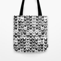 Black & Gray Cats Tote Bag