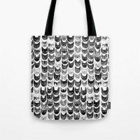 Black & Gray Cats Tote Bag