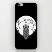 SPECTAC-OWL iPhone & iPod Skin