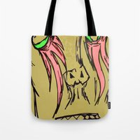 Don't Cry Tote Bag