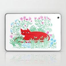 The Garden Cat Laptop & iPad Skin