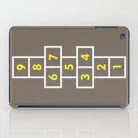 Hopscotch Brown iPad Case