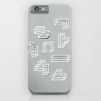 Tetris Papercut iPhone 6 Slim Case