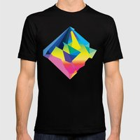 Four Two Mens Fitted Tee Black SMALL