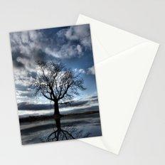 Wintering Oak Tree Stationery Cards