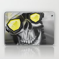 Skull and bones Laptop & iPad Skin