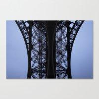 Eiffel Tower - Detail Canvas Print