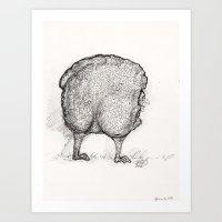 Man In Sheep's Clothing Art Print