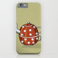 iPhone & iPod Case featuring Tea party  by Natalia Ogneva