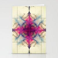 The Cross of Eternity Nebula Stationery Cards