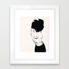 Pull Your Shirt Off Bitch! Framed Art Print