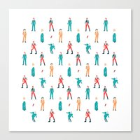 The Land of Bowie Canvas Print