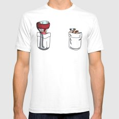 a little of Gravity Falls SMALL White Mens Fitted Tee