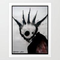 Punk Macabre Art Print