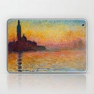 San Giorgio Maggiore By … Laptop & iPad Skin
