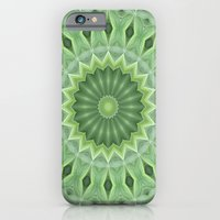 iPhone & iPod Case featuring Green Beauty by Bel Menpes
