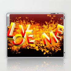 Love me! Laptop & iPad Skin