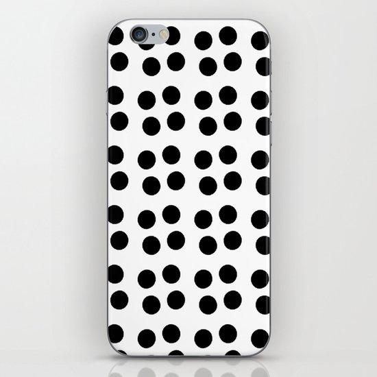 Copijn Black & White Dots iPhone & iPod Skin
