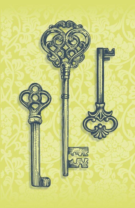 Three Skeleton Keys Canvas Print