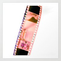Film Strip Art Print