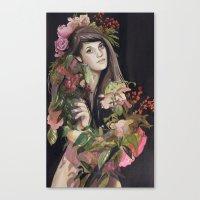 Growing Strength Canvas Print