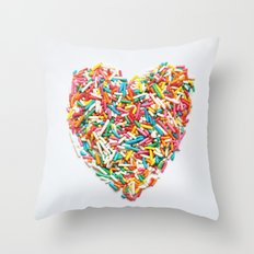 Sprinkles Party I Throw Pillow