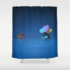 Thread Troll Shower Curtain