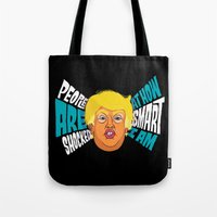 Trump is VV Smart Tote Bag