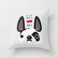 This Is Rocky Throw Pillow