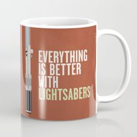 Everything Is Better Wit… Mug