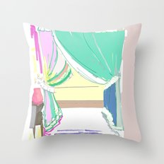 Vermont Window Throw Pillow
