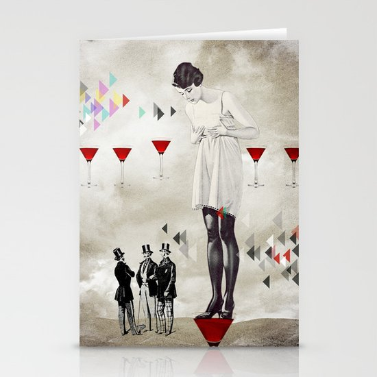 Women thoughts Stationery Card