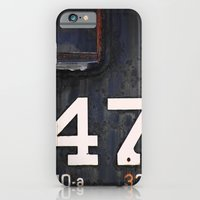 iPhone & iPod Case featuring 47 Red Window by christopher justin gilner photographic