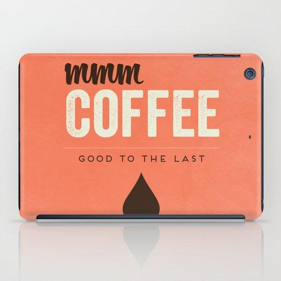 Mmm Coffee iPad Case