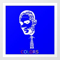 COLORS(artist Book-2014)… Art Print