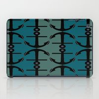 Ocean Anchors iPad Case
