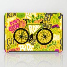 RIDE YOUR BIKES iPad Case