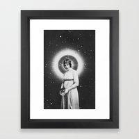 Lady Cosmos Framed Art Print
